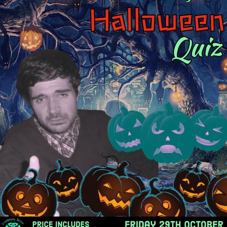 James MacGregor's Halloween Quiz