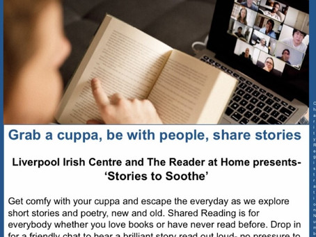 Shared Reading Taster with The Reader Organisation