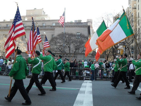 Happy St.Patrick's Day From New York