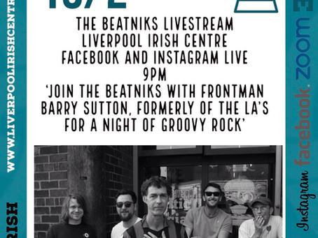 The Beatniks - Online Event Announcement