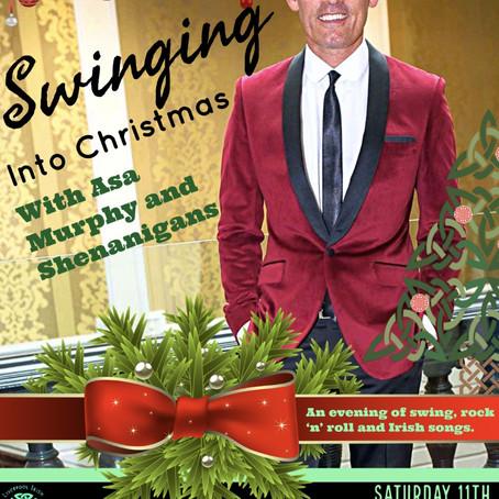 Swinging into Christmas - Asa Murphy and Shenanigans