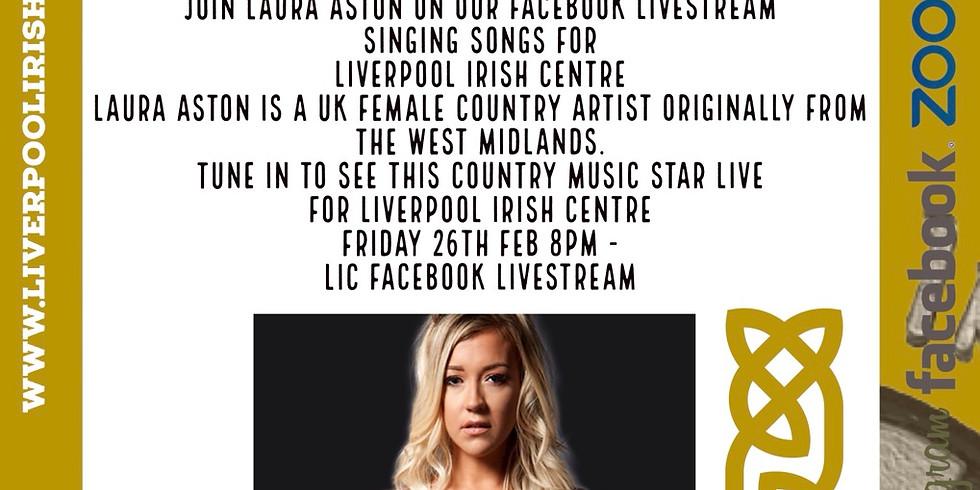 Laura Aston - Country Sensation LIVESTREAM