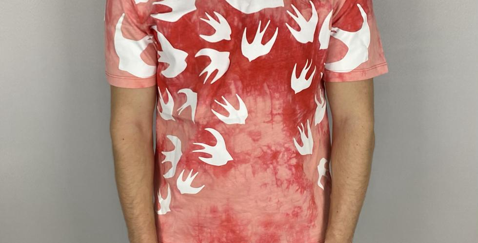 Alexander McQueen Swallow Print T-Shirt