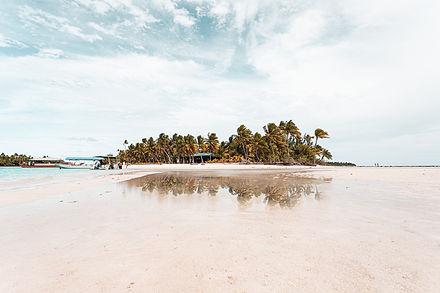 One Foot Island, Aitutaki, Cook Islands,