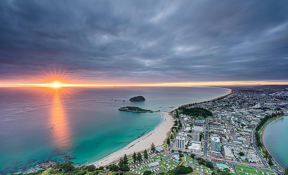 """Sunset at Mount Maunganui"" By Ram Subramanian, ""Mind & Shutter"""