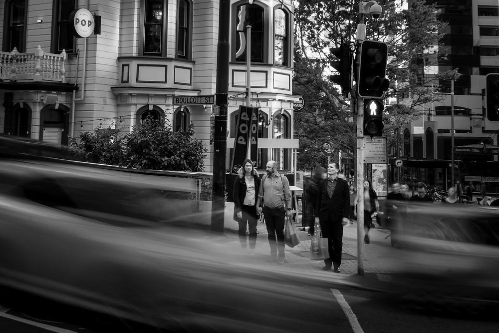 Boulcott Street, by Clint Maxwell