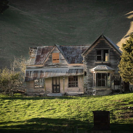 """Photo Review - """"Dilapidated Farmhouse"""" by Peter McIlroy"""