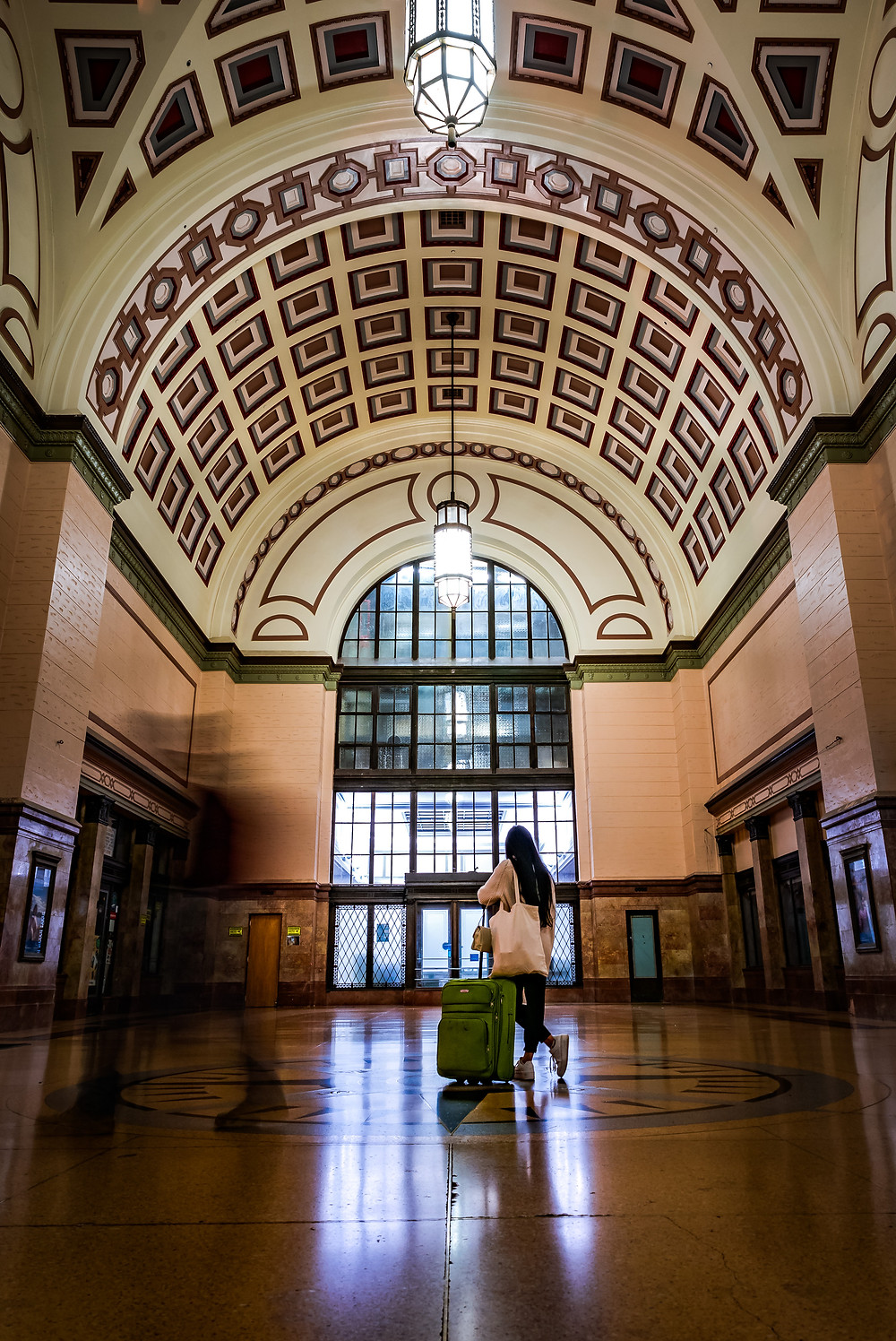 Wellington Railway Station, by Michael Harris