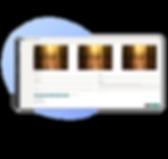 Uploading photos interface