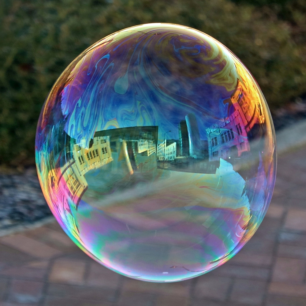 """Bubble-o-scope"" by Tanya Rowe"