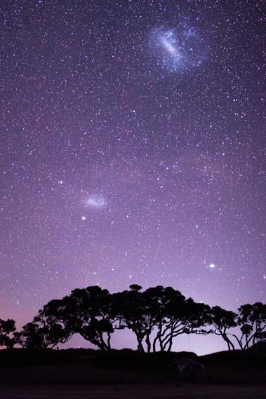 Magellanic Clouds by Tim Ashby-Peckham