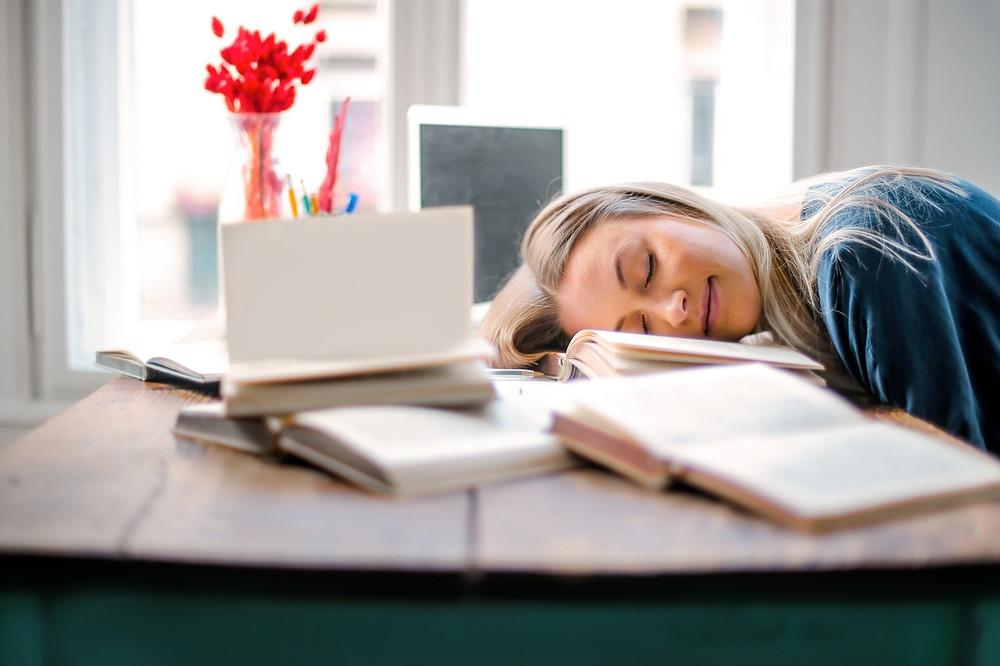 struggling with sleep