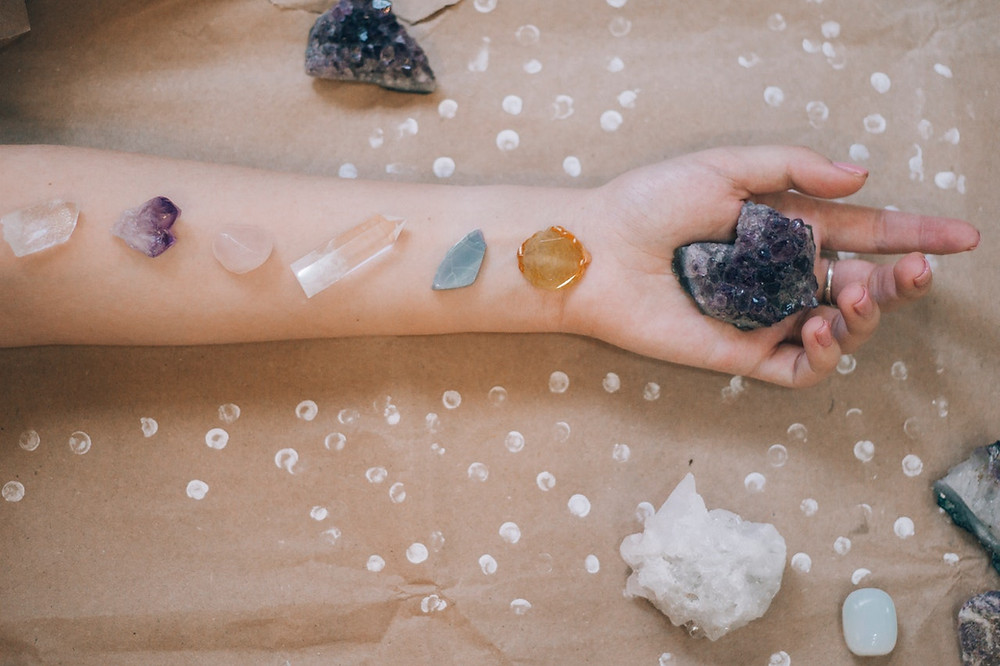 Which crystals helps with stress and anxiety?