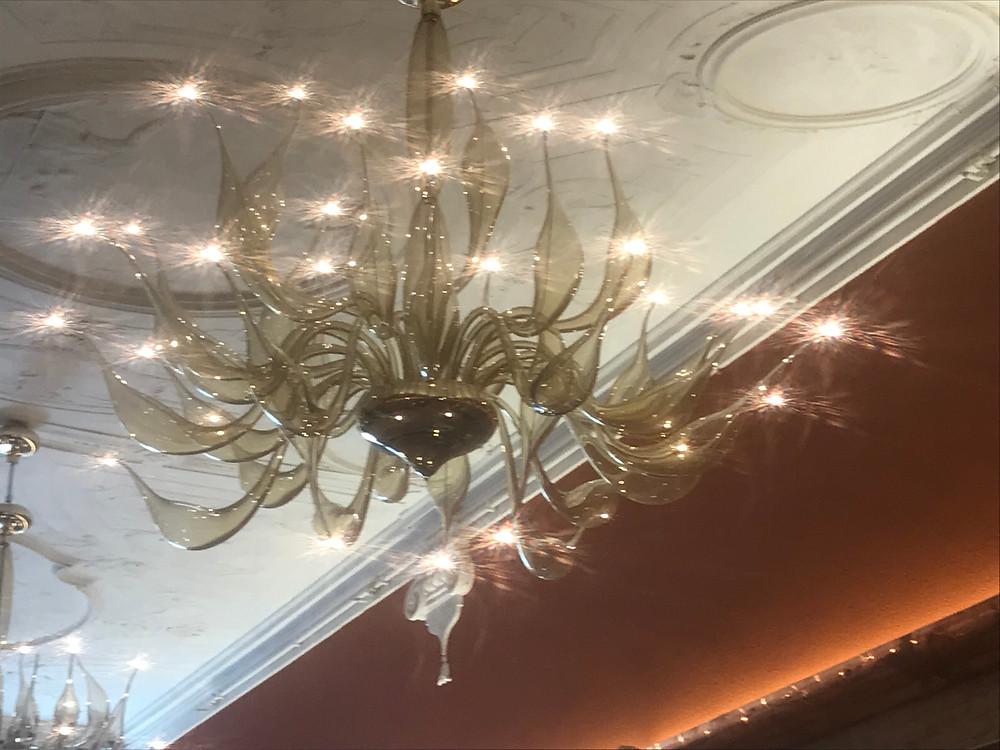 Murano Glass Chandelier_ Hotel Nani Mocenigo Palace