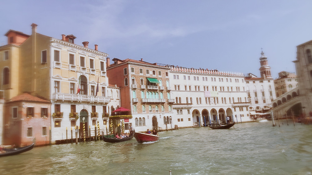 View of Venice Canals from the Riva Limousine
