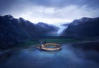 The Worlds First Energy Positive Hotel, Svart