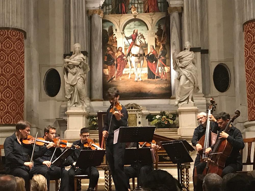 Credit: Kalay_Concerto by Interpreti Veneziani at San Vidal Church, Venice