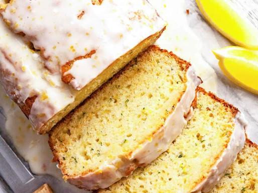 Double Glazed Lemon Zucchini Bread