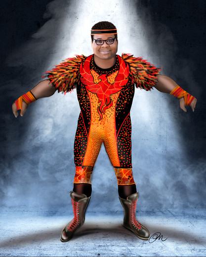 AP Bio: Episode 308  Anthony as Trash Phoenix Costume Design By Phoenix Mellow Illustration by Phoenix Mellow