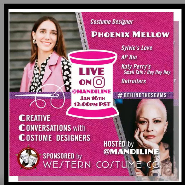 Creative Conversations with Costume Designers