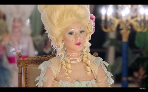 "Katy Perry ""Hey Hey Hey"" Capital Records Costume Design by: Phoenix Mellow"
