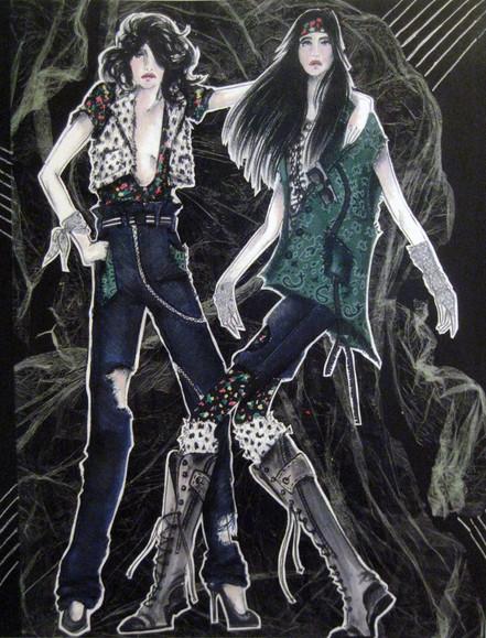 Illustration by Phoenix Mellow