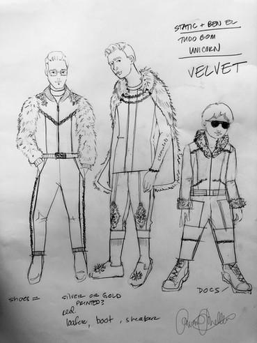 Tudo Bom Concept Sketch
