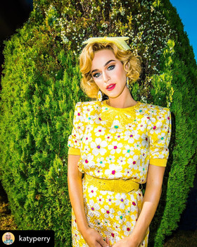 """Katy Perry """"Small Talk"""" Costume Design By Phoenix Mellow"""
