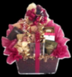 Upscale Gourmet Gift Basket Arrangement