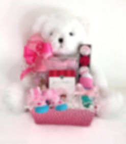 Teddy Bear Baby girl arrangement
