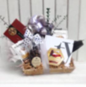 Thank you gift basket arrangement