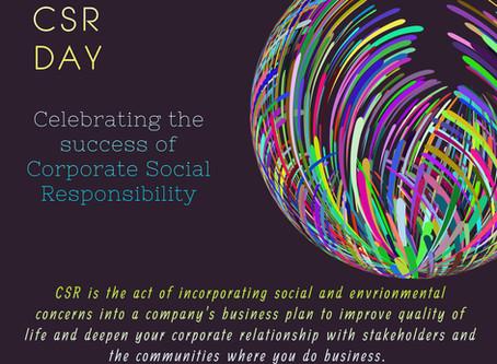 Celebrating World Corporate Social Responsibility Day