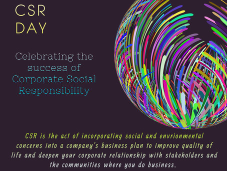 Celebrating World Corporate Social Responsibility Day