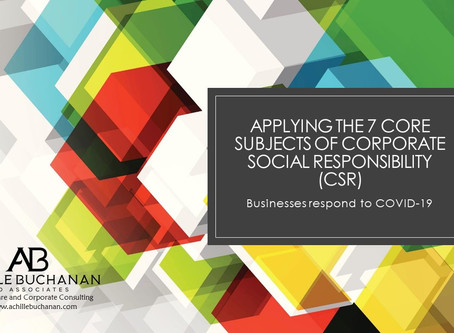 Businesses Practicing Principles of Corporate Social Responsibility Stand Out in Our Changing World