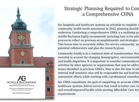 Community Health Needs Assessment Planning