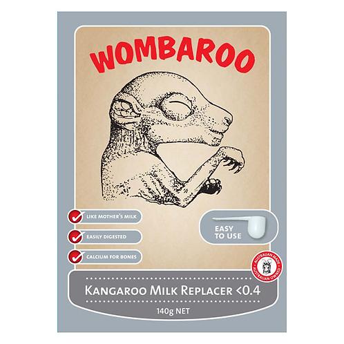 Kangaroo Milk Replacer <0.4 140g - Wombaroo