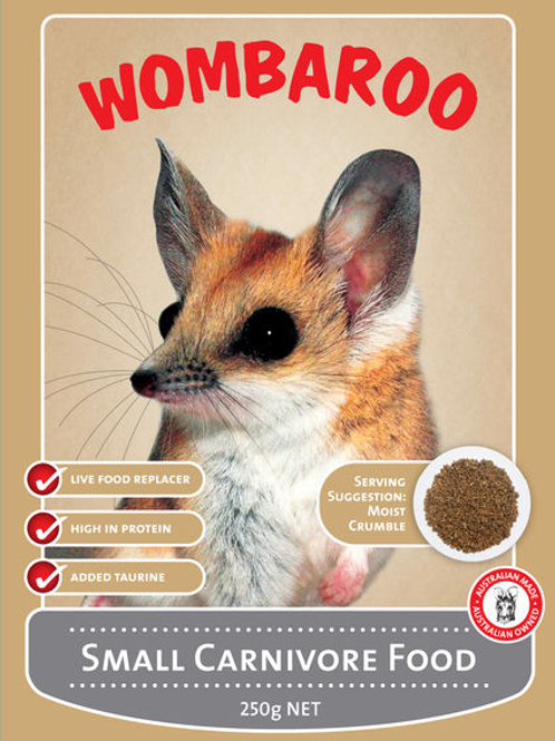 Small Carnivore Food - Wombaroo
