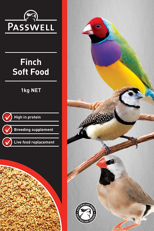 Finch Soft Food 1kg - Passwell