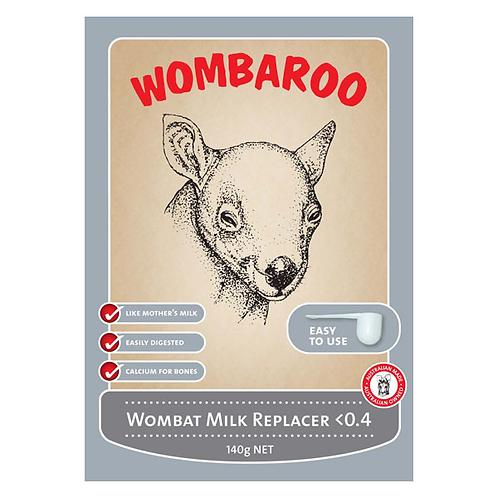 Wombat Milk Replacer >0.4 140g - Wombaroo
