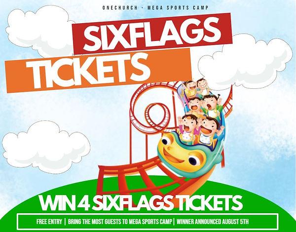 Six Flags Flyer - 4 Tickets.JPG