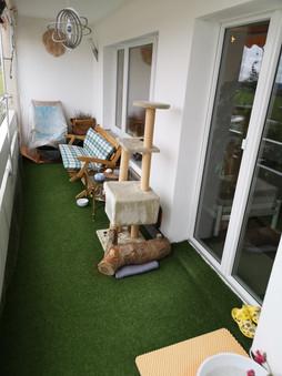 Balkon 1.5 x 6 m + ...