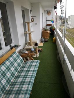 Balkon ... + 1 x 4 m