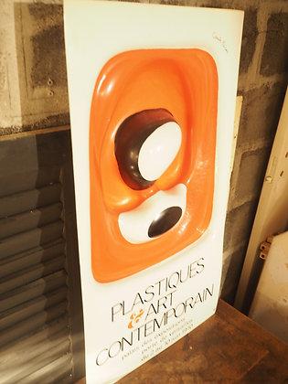 Affiche publicitaire Canto Pacos thermoformé