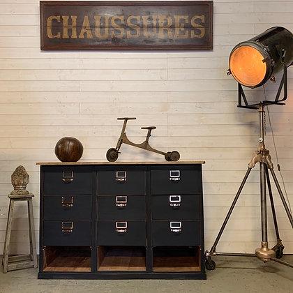 Ancien meuble comptoir de Métier 1940