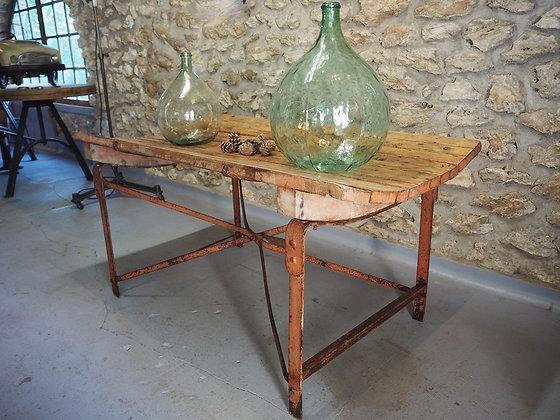 Ancienne table de métier 1950