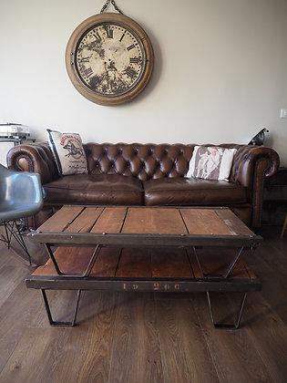 Table basse avec double palette