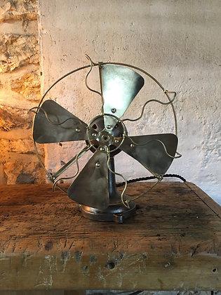 Ventilateur en fonte et laiton 1930