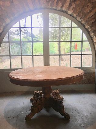 Table de salle à manger Style Henri II