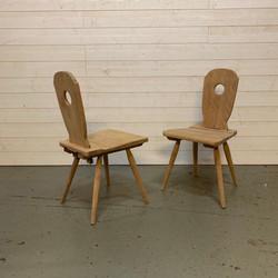paire chaise menuisier
