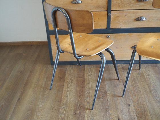 Chaise vintage américaine Dave Chapman année 50